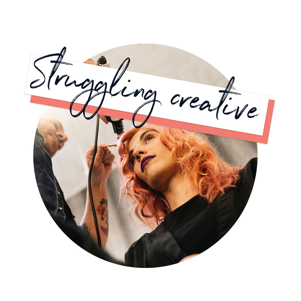 Struggling-creative